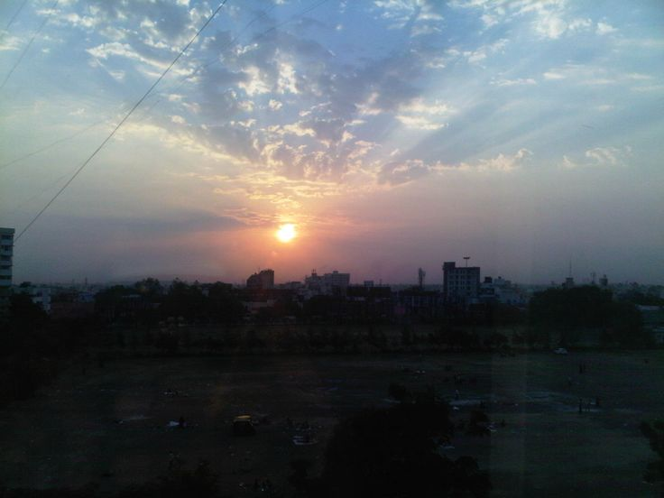 Wake up to this in morning Rajkot