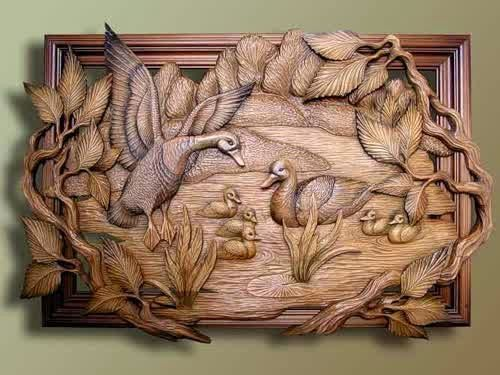 Wood carving by russian artist peter nosikov artistic