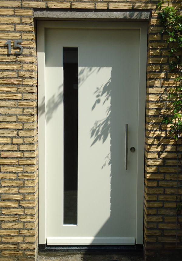 houten voordeur met glas - Google zoeken