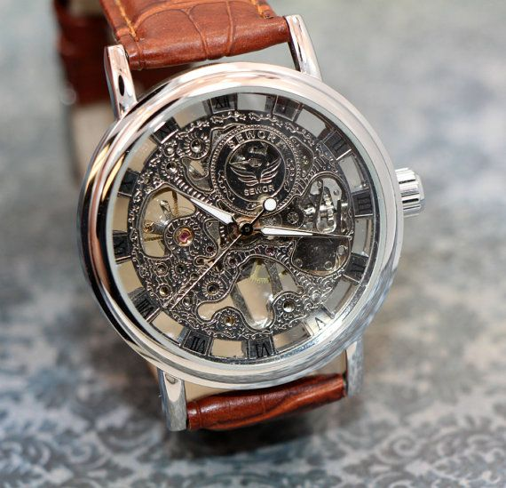 Hey, I found this really awesome Etsy listing at https://www.etsy.com/ca/listing/154492136/mens-watch-steampunk-watch-see-thru-man