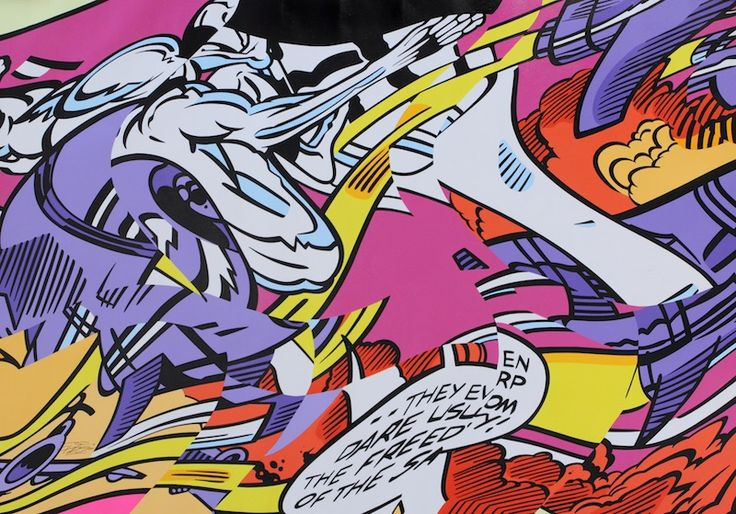 PRO176 - DANGER ZONE TRIBULATION - GALERIE ZIMMERLING & JUNGFLEISCH http://www.widewalls.ch/artwork/pro176/danger-zone-tribulation/ #Painting
