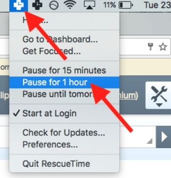 rescue time download mac