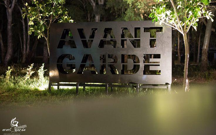 Avant Garde Panel, by Dimitris Zelios Laser Cutting 3mm Steal