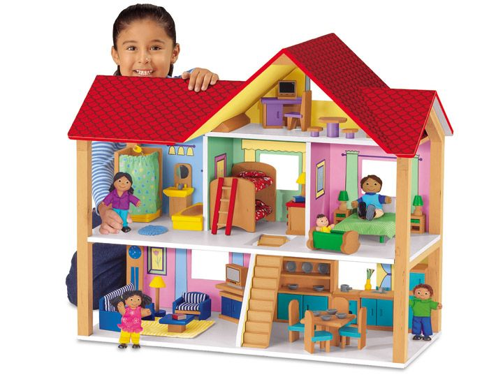 Giant Classic Dollhouse My Friend Has This It S Amazing