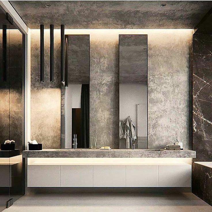 Are You Looking For A New Bathroom Decor See Some Inspirations At Monsyeur C Minimalist Bathroom Design Luxury Bathroom Interior Contemporary Bathroom Designs