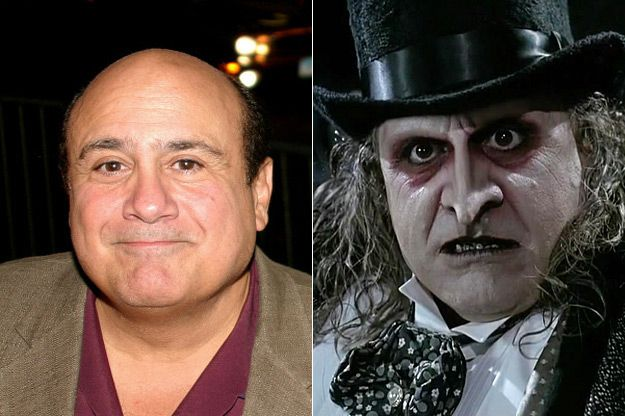 Danny DeVito/Penguin   The 16 Best Special Effects Makeup Before And Afters