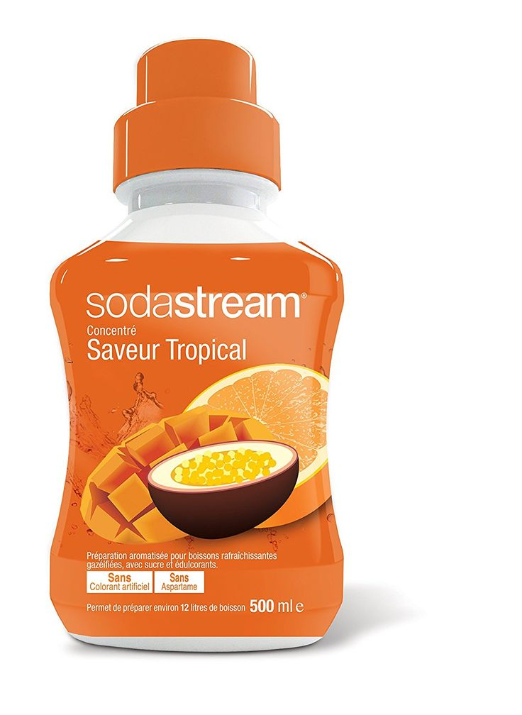 Sodastream 30061352 - Concentrato al sapore tropical, 500 ml: Amazon.it: Casa e cucina