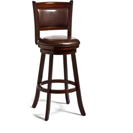 Bar Stools Furniture Dennery Swivel Home Outdoor Cherry - Dining Sets