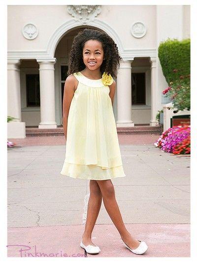 flower girl yellow