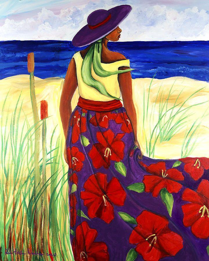 """""""Purple Hat"""" by Diane Britton Dunham"""