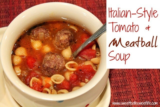 More Homemade Soup and Bread–Italian Style