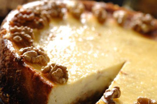 cheesecake al torrone e noci