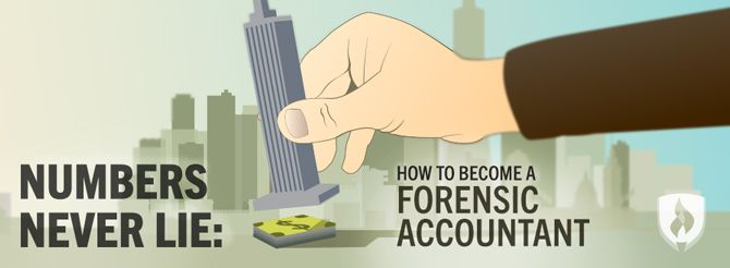 How to Become a Forensic Accountant #accounting #forensics #careers