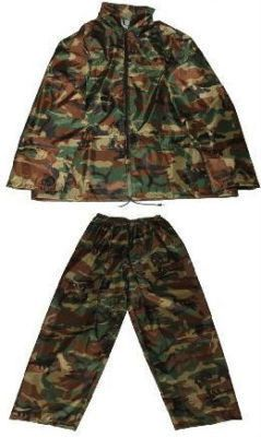 We are providing highly popular and immensely high quality of children waterproof trousers for ultimate water proof outing for your kids. Specially designed for kids, we have maintained a blend of quality material to match your kids comfort.For more information please visit our website - http://www.stcstores.co.uk/products/childrens-camo-waterproof-suit or you may contact at 01297 21870.