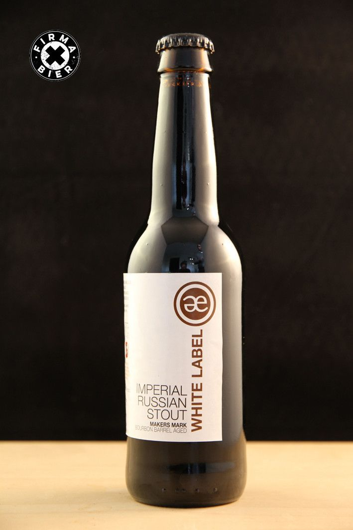 Emelisse White Label Imperial Russian Stout Maker's Mark Barrel Aged – Firma Bier