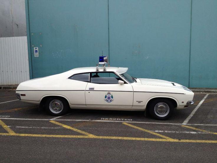 """Historic"" Australian Police cars - XB Falcon"