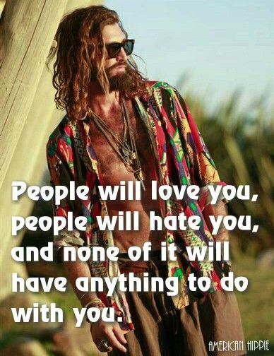 ☮ American Hippie ☮ Not about you ...