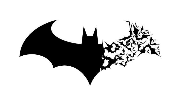 Arkham Logo with Bats by berabaskurt.deviantart.com on @deviantART