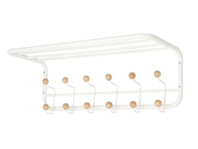 Large Coat rack - white and natural | Collected by LeeAnn Yare