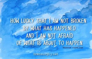 I am not afraid of what is about to happen...