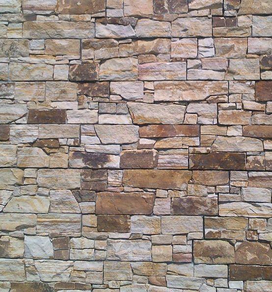 Imitacion piedra exterior cheap ladrillo blanco chapa de - Imitacion piedra para exterior ...
