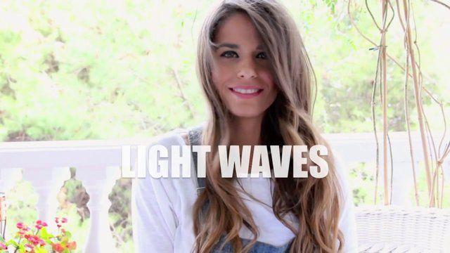Tutorial de cabello- Ondas suaves con tenacillas. Hair tutorial - Light waves by Jessie Chanes. Tutorial de cheveux. Vagues molles avec curling. #ondas #tenacillas #jessiechanes
