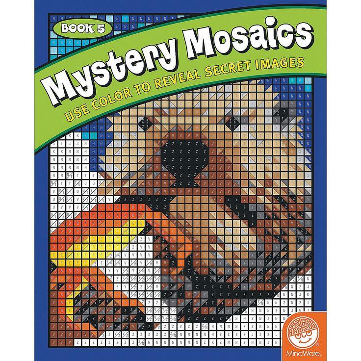Mindware® Mystery Mosaics - Book 5 - OrientalTrading.com