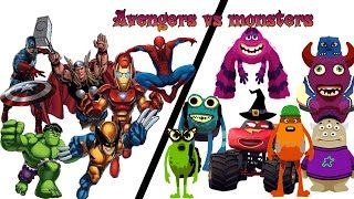 Marvel Super Heroes Vs Monsters Finger Family Songs | Super Heroes Songs & Rhymes Collection