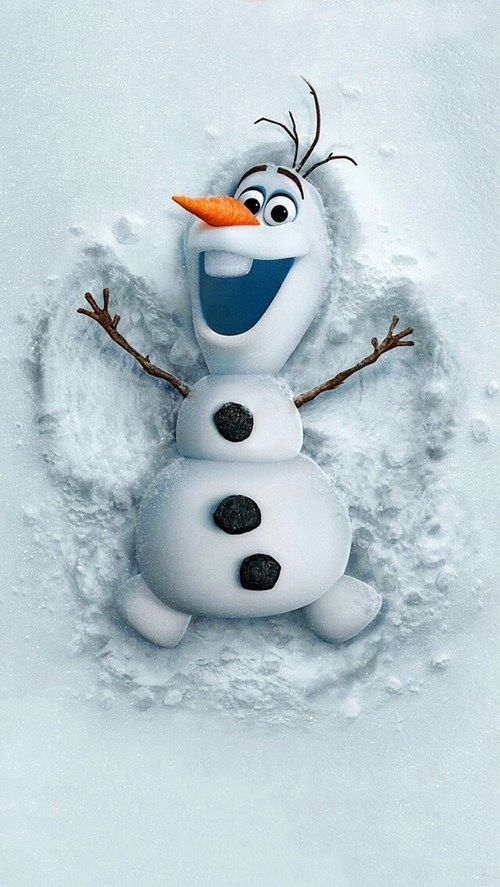 ∞Olaf iPhone wallpapers ♡   /  - Check me out on Facebook too. Just CLICK >…