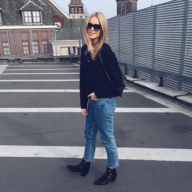 Yesterday's look wearing my new #isabelmarant boots via @786fridge #moderosa #786fridge #favshoestore #designerstore #alkmaar #shopping