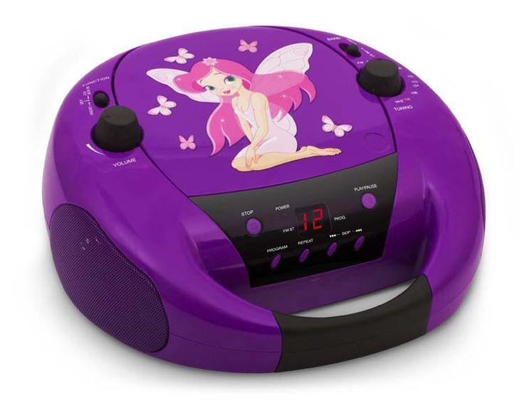 Radio CD portatile CD52 (Fairy Viola) - Da Bigben Interactive. Ulteriori informazioni qui: http://www.bigbeninteractive.it/produit/produit/id/8580
