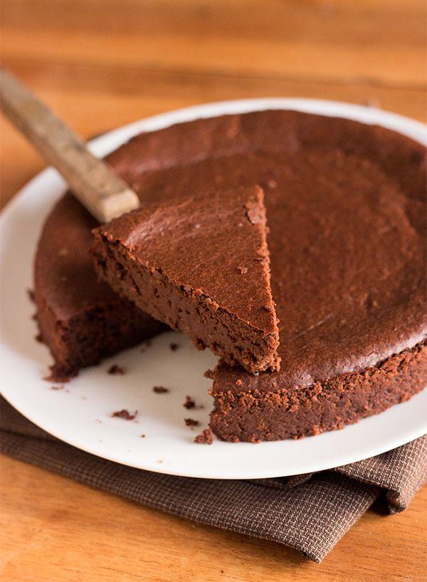 fondant au chocolat & lentilles vertes du puy