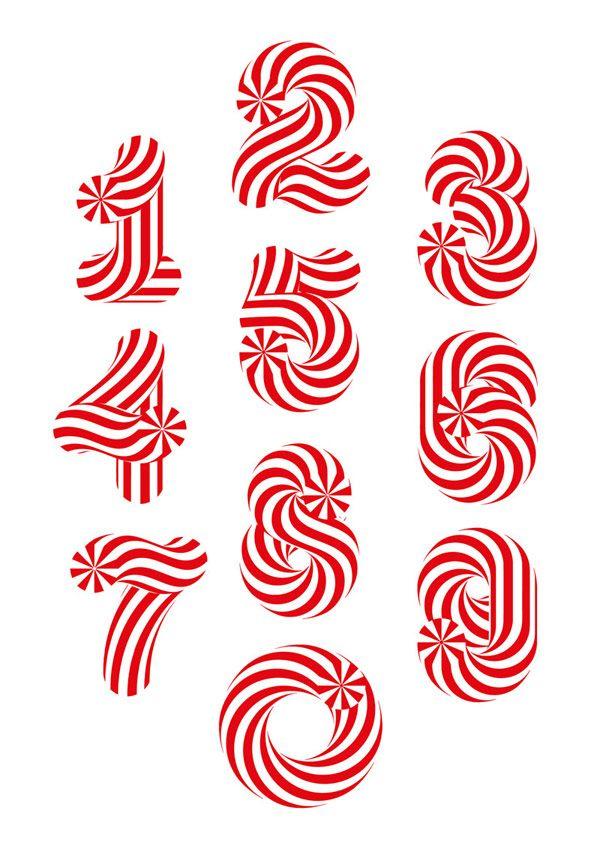 Candy Numbers © Sergi Delgado