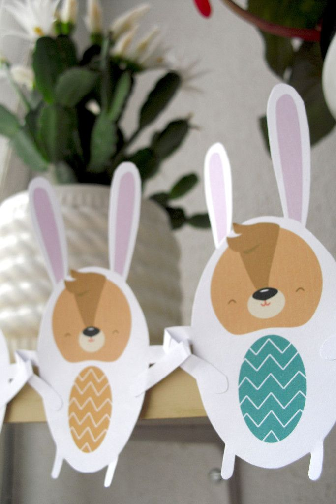 Easter Bunny Bunting - My little bloggity blog