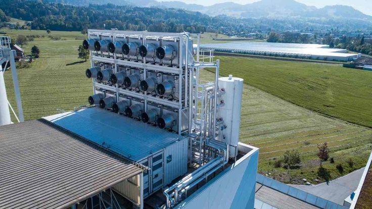 In Switzerland, a giant new machine is sucking carbon directly from the air. Experts debate whether technology is useful for curbing climate change