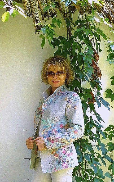Жакет Лаура -войлок