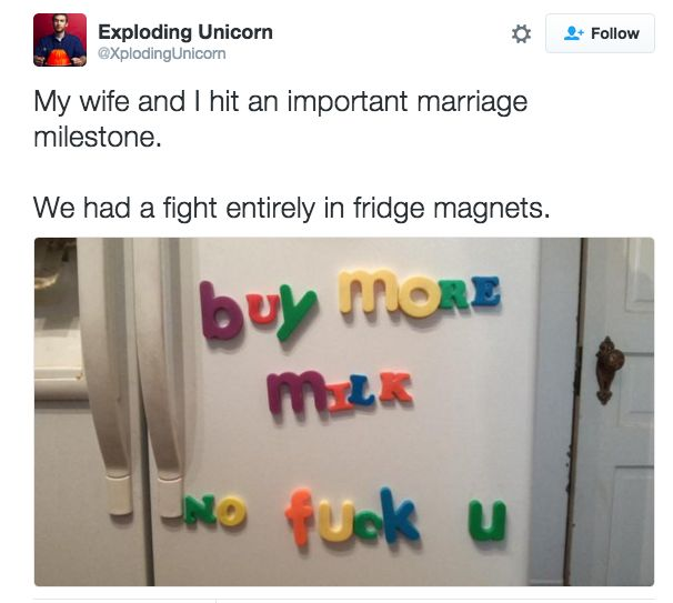 "When you find creative ways to argue: | 19 Pictures That Will Make You Say ""Me As A Wife"" ------>lol"