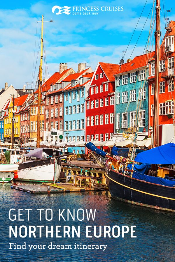 Visit the land of fairytale castles and charming hamlets. Travel from iconic Edinburgh to delightful Dublin to the wonders of Paris -- all in one trip. Get to know Northern Europe when you set sail with Princess.