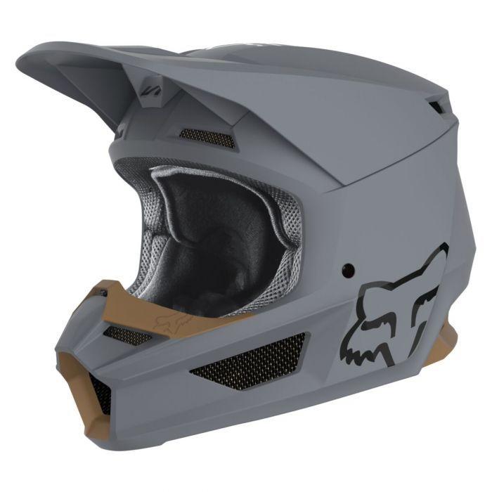 Fox Racing V1 Matte Helmet 2020 Motocross Helmets Dirt Bike