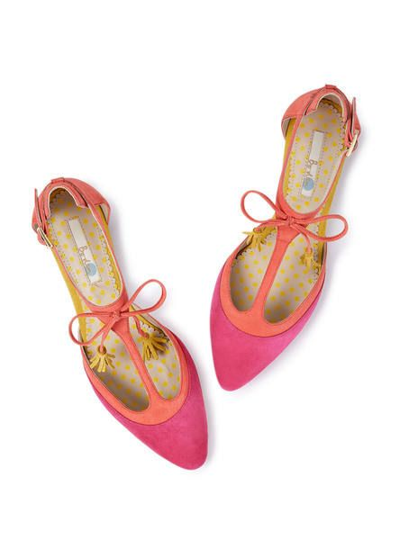 Alice Flat AR707 Shoes at Boden