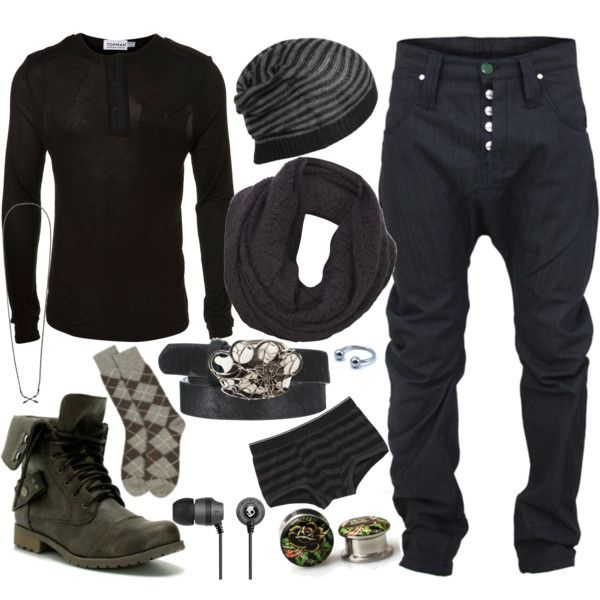 """burnt out 43"" by reknit on Polyvore"