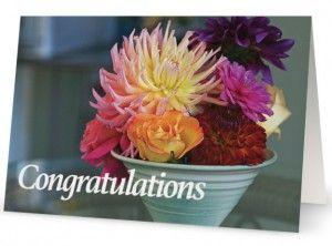 Dhalia Arrangement – Congratulations