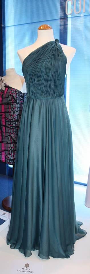 Blue gray Dress. Marta Cambronero SS 13
