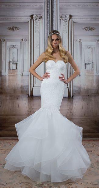 40 best Pnina Tornai 2018 images on Pinterest | Short wedding gowns ...