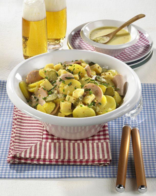 Unser beliebtes Rezept für Badischer Kartoffelsalat und mehr als 55.000 weitere kostenlose Rezepte auf LECKER.de.