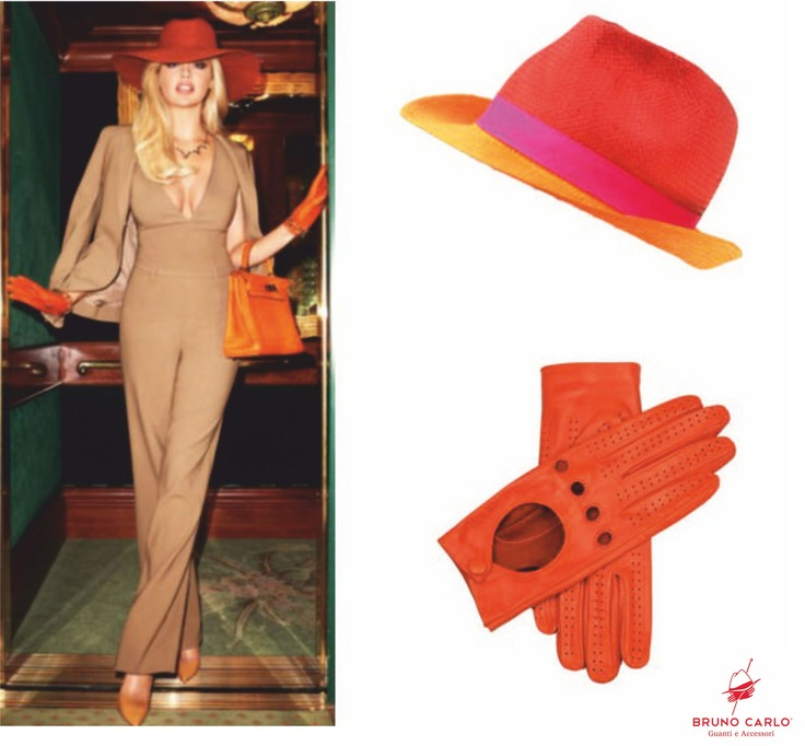 An orange touch of BC style. #welovecolor   www.brunocarlo.com
