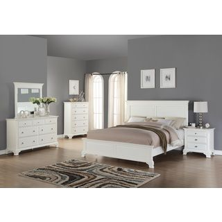 Update the look of your room in a stylish and charming way with this bedroom furniture set. This classic design and bold style add a special feature in your bedroom that must not be overlooked. This s