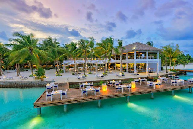Kurumba Maldives building