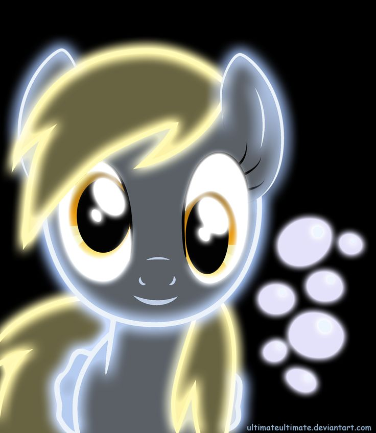 derpy hooves | Neon Derpy Hooves by ZantyARZ on deviantART