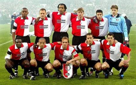 Feyenoord 2002, winners of the UEFA Cup